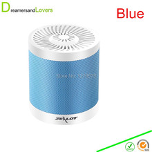 4.0 Bluetooth MINI Speaker Hands-free Portable Speaker With Mic for iphone 6 6plus iPad iTouch Samsung Smartphones Tablets Blue