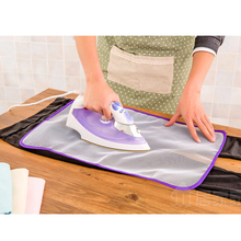 2016 Hot Sale Clothing Heat Resistant Ironing Mat Mesh Clothing Cloth Ironing Board Protect Cover Ironing Pad Cushion(China)
