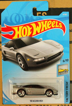 New Arrivals 2017 8a Hot Wheels 1:64 sliver 90th acura nsx Car Models Collection Kids Toys Vehicle For Children hot cars(China)