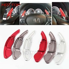 Aluminum Alloy Steering Wheel Shift Paddle Extension Shifters Replacement  FOR HONDA Crosstour SPIRIOR Accord ODYSSEY