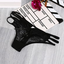 Buy Fashion Women Ultra-thin Bowknot Lace Floral G-string Elastic Strap Bandage Design Briefs Panties Sexy Underwear for $1.04 in AliExpress store