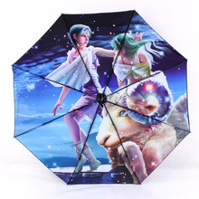 Fairytale Horoscopes Zodiac Star Signs Anti-UV Rain Sun Arts Umbrella Scorpio