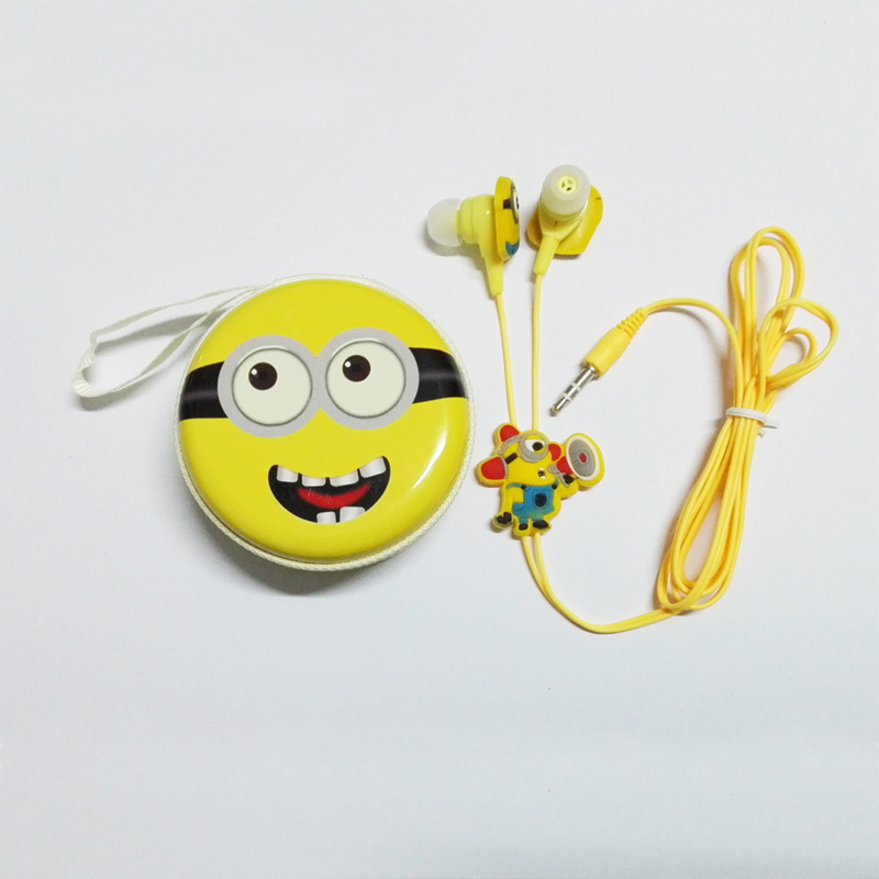 2017 New Silicone Piston Stereo Headphone Cute Cartoon Earphone With Nice Box For Mobile Phone &amp; MP3 Player<br><br>Aliexpress