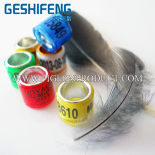 Low frequency em4305 chip rfid pigeon ring band for 2016