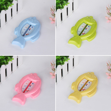 High Quality Baby Floating Fish Water Thermometer Plastic Float Bath Toy Tub Sensor 10-50C(China)