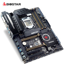 BIOSTAR New Motherboard GAMING Z170W i7 7700k 6600 1151 ATX DDR4 Computer Mainboard 10 Phase Super Power Supply Realtek+Killer