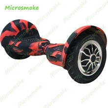 10 Pieces DHL free Two Wheels Electric Smart Balance Scooter Shell 10inch Hoverboard Skateboard Silicone Protective Cover