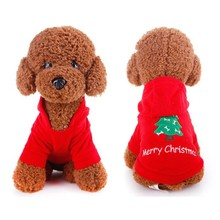Pet Cat Dog Cloth Coat Christmas Holloween Jacket Autumn Winter Leisure Fleece Pure Cotton Wear Gift for Pet Dogs Cats