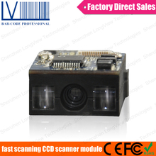 LV1400 Cheap 1D CCD Barcode Scanner Module with Serial Output Cable