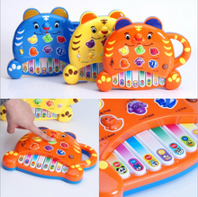Three color cartoon tiger pattern NEW new musical toy instrument toys for children baby educational w037