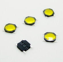 200PCS/Lot 4*4*0.8 Tact Switch SMD Tactile membrane switch Push Button 4*4*0.8mm(China)