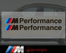 Free shipping M Performance sticker waterproof sunscreen M3 M5 car stickers(China)