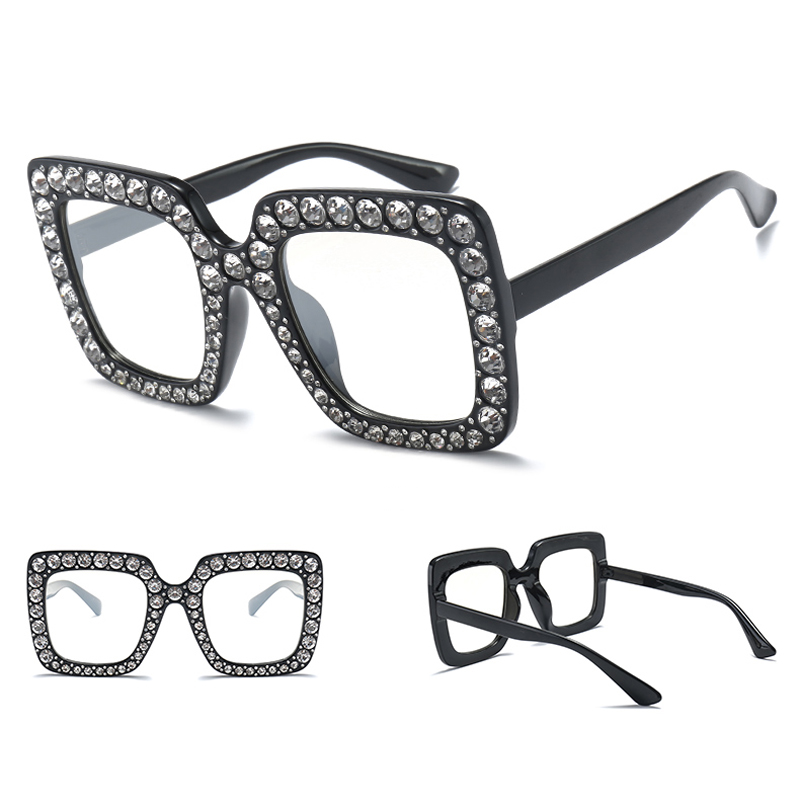 rhinestone sun glasses for women luxury brand 7080 details (8)