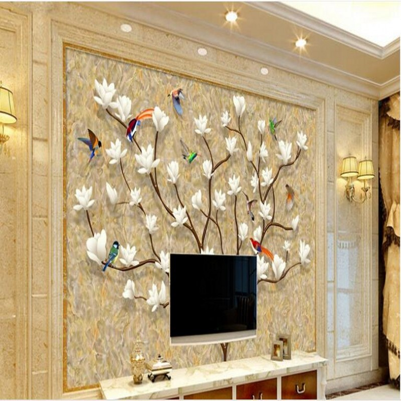 Beibehang Custom Large Scale Murals European Style Hand Painted Aliexpress  Com Family Tree Wall Sticker Frames Home ... Part 68