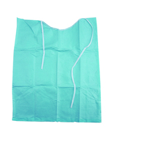 Free Shipping 30pcs/bag Disposable Blue Color Neckerchief Medical Shop Towels Lacing Bibs Sputa Pad Dental Materials Consumables(China)