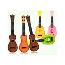Mini Guitar ABS Material Musical Instrument Toy Four Strings Guitar 3 Sizes Early Learning Toys for Kids