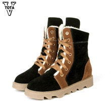 VTOTA 2017 Fashion Winter Warm Boots Women Snow Boots Cozy Shoes Woman Platform Women Shoes Factory Wholesale Botas Mujer HYDO1(China)