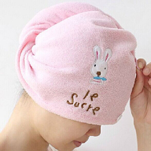 Quick Dry Microfiber Hair Towel New Dry Hair Hat Magic fast Hair Drying Bath Wrap Twist Towel Hat