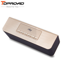 TOPROAD 10W Portable Wireless Bluetooth Speaker Dual Drivers Speakers HIFI Bass Subwwofer Mic TF FM USB for iPhone Samsung PC