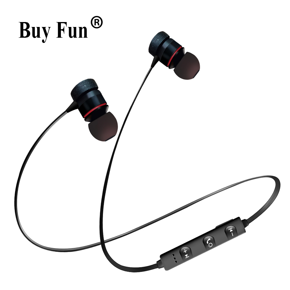 TWS In-ear Bluetooth Earbuds Wireless Earphone Sport Music Headset Apple iPhone Samsung Xiaomi Android Magnetic Head phone