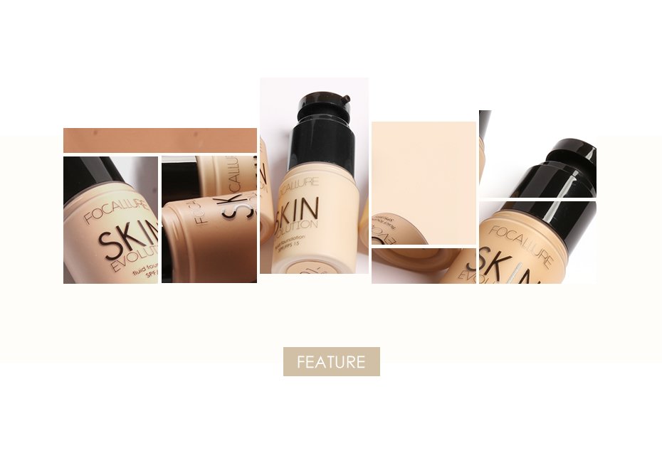 Face Makeup Base Face Liquid Foundation BB Cream Concealer Foundation Primer Easy to Wear Soft Carrying 6