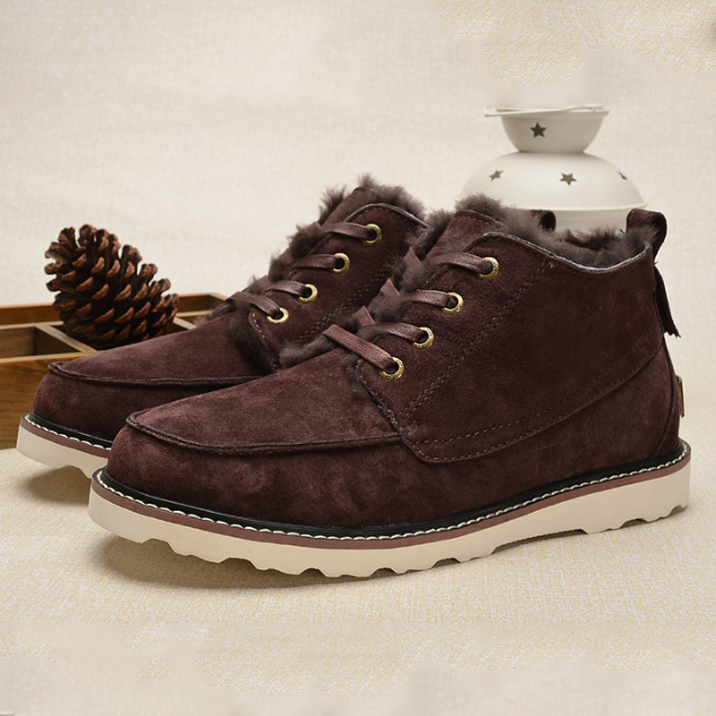 UVWP Brand High Quality Men Snow Boots Fashion Men...