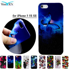 Coque For iphone 5 5S SE Case Luxury Bling 3D Phone Case For iphone 5SE Glitter Soft TPU Silicone Back Case Cover For iPhone 5SE(China)