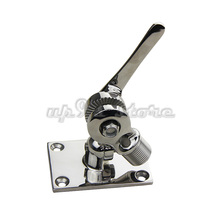 316 Stainless Steel Antenna Ratchet Mount 4-Way Heavy Duty Marine Boat Hardware