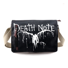 New Death Note/Fairy Tail Natsu Dragneel/Sword Art Online SAO/Fate Stay Night Canvas Messenger Bag Students Cartoon Pack Bag