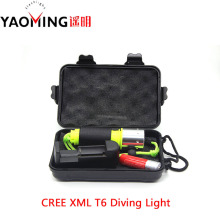 100% Authentic CREE XM-L T6 3800LM 10W diving light led lamp lanterns scuba flashlights for underwater scuba diving flashlight