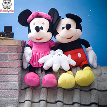 Children Stuffed Toy mickey and minnie wholesale price Christmas gift kids doll plush baby toys birthday gift