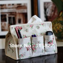 Min order$20(mixed item) storage bag linen bag with 6 pocket napkin box pen and mini stationery collect