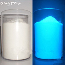 buytoes 500g blue color Luminous powder phosphor powder DIY decoration 500g/bag,decorating material,Glow Powder Paint