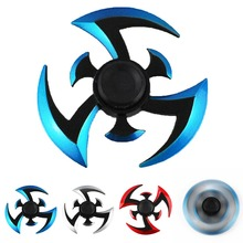 New Fidget Gyroscope Spinner Naruto Fidget Vinger Spinner Darts Metal Hand Spinner Cosplay Model EDC Stuffer For Kid/Adult(China)