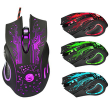 Malloom 2016 Professional Promotion 5500DPI LED Optical 6D USB Wired Gaming Game Mouse Pro Gamer Computer Mice For PC Gift Sale