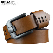 Buy Best YBT Men casual Belt Men Pin buckle Retro casual Belt Imitation leather Alloy buckle Belt Multicolor optional for $3.83 in AliExpress store
