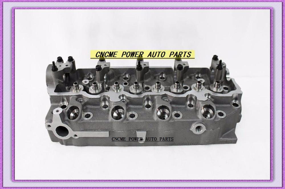 4D56 D4BA D4BAT 4D56T Cylinder Head For Mitsubishi Montero Pajero L300 DELICA Canter For Kia Besta Bongo 2.5L MD185926 908 512 (1)