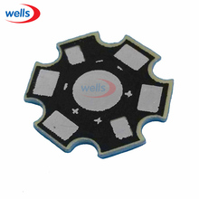 LED 25pcs High Power 1w /3w /5w Watt LED Heat Sink Aluminum Base Plate 20 mm LED board KIT DIY high quality star heatsink(China)