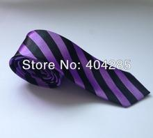 cheap striped ties polyester tie for men necktie gift #207