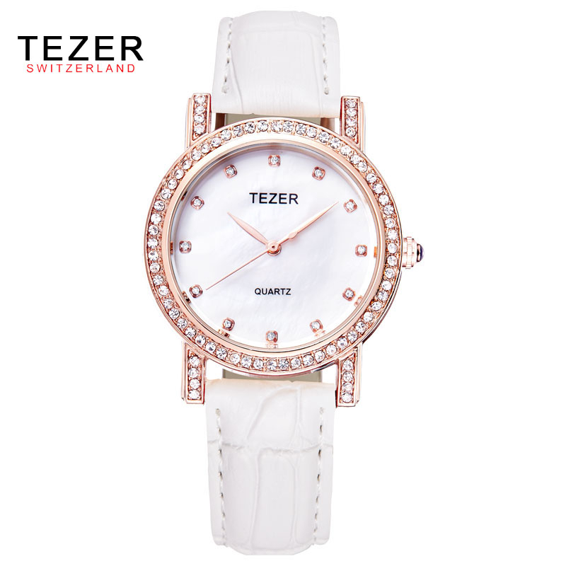 TEZER 2016 Woman Fashion Watches 2017 Brand Luxury Casual Quartz Watch Women For Relogio Women Watches Relojes Mujer C83<br><br>Aliexpress