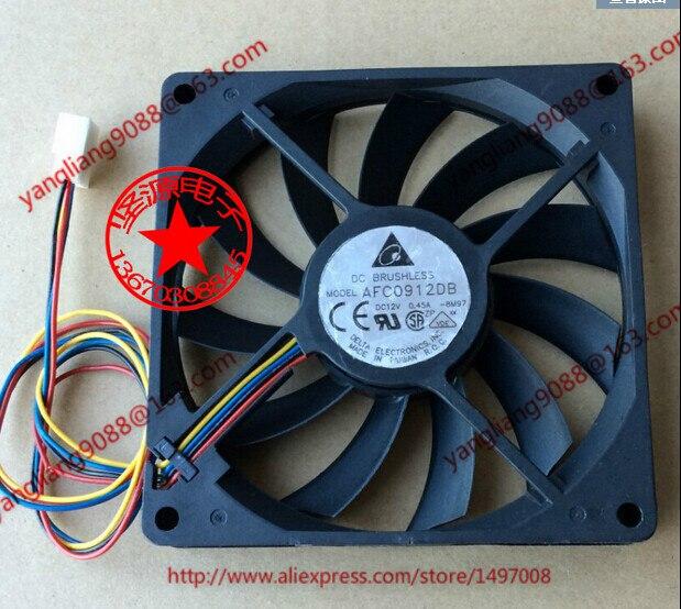 DELTA AFC0912DB BM97 DC 12V 0.45A 90x90x15mm Server Square Fan <br>