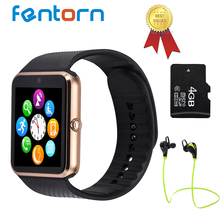 [ Top Seller] Fentorn GT08 Bluetooth Smart Watch wearable devices Support SIM TF Card MP3 Smartwatch For apple Android OS phone