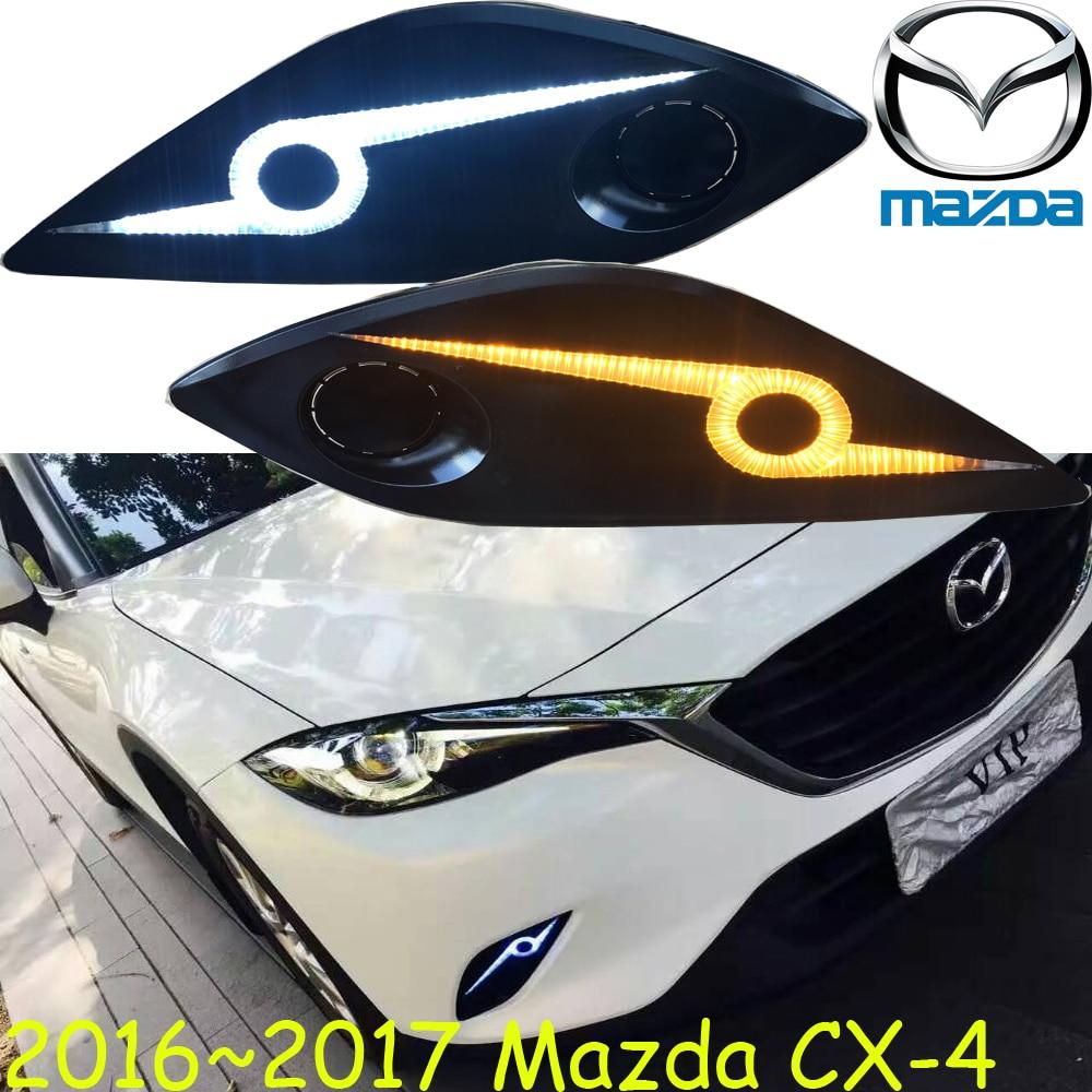 car-styling,2016~2017 Mazd CX-4 daytime light,Free ship!LED,CX-4 fog light,mada,2ps/set;,AXELA,CX-5,chrome,car covers,cx 4,cx4<br>