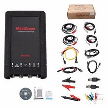2016 AUTEL MaxiScope MP408 Basic Kit 4 channel automotive oscilloscope work with PC&Maxisys Read and display electrical signals