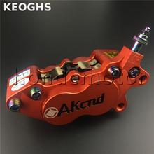 KEOGHS Akcnd-d6 High Quality Motorcycle Brake Caliper Hydraulic Disc Brake 40mm Location For Honda Yamaha Kawasaki Suzuki Modify