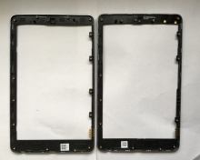 R&U LCD Frame With glue Front Bezel Housing Replacement Parts for ASUS Google Nexus 7 nexus7 2012 ME370T wifi version