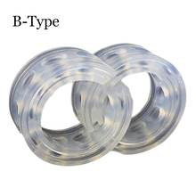 High Quality 2 Pcs/Lot B-Type With Transparent Car spring Damper Rubber Shock Absorber Spring Bumper Power Cushion Car-styling