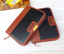 A6 thick pages of imitation leather notebook, service business notebook, portable travel diary(China)
