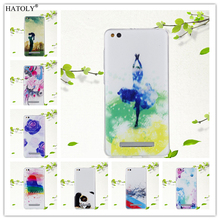 Buy HATOLY Fundas Xiaomi Redmi 4A Case Soft Silicone Lovely Heart Rose Vase Ink Painting Back Cover Skin Xiaomi Redmi 4A for $1.40 in AliExpress store