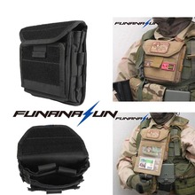 Buy Tactical Admin Magazine Ammo Storage Pouch Security Pack Carry Vest Accessory Kit Loops Waist Molle Bag Mag Map Flaslights for $9.50 in AliExpress store